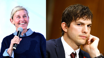 Entertainment News - Ashton Kutcher Got Dad-Shamed By Ellen DeGeneres And It Really Affected Him