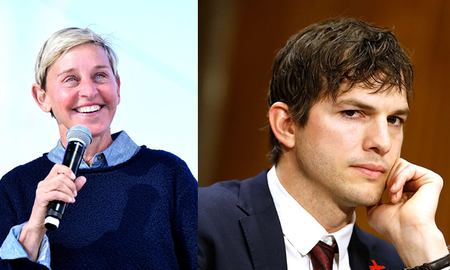 Entertainment News - Ashton Kutcher Got Dad-Shamed By Ellen DeGeneres And It Really Affected Him