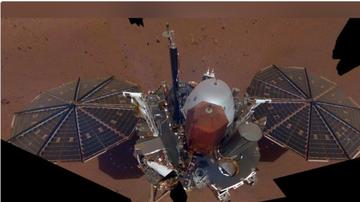 BC - NASA's Mars Lander Takes Selfie With Robotic Arm