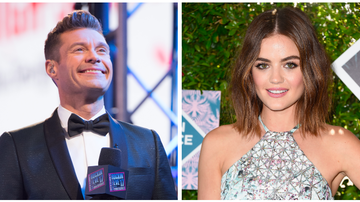 Ryan Seacrest - Ryan Seacrest and Lucy Hale Exchange Past 'New Year's Rockin' Eve' Stories