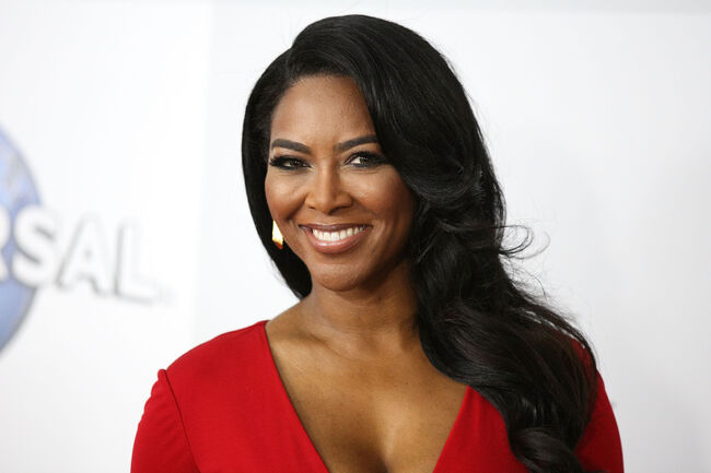 NBCUniversal's 72nd Annual Golden Globes After Party - Arrivals BEVERLY HILLS, CA - JANUARY 11: Actress/television personality Kenya Moore attends NBCUniversal's 72nd Annual Golden Globes After Party at The Beverly Hilton Hotel on January 11, 2015 in Beverly Hills, California. (Photo by Imeh Akpanudosen/Getty Images)