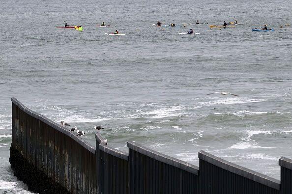 U.S. Mexico Beach  Getty Images