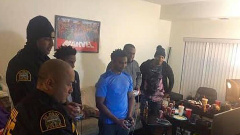 Cops Respond To Noise Complaint, End Up Playing Video Games