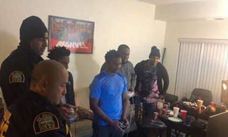 National News - Cops Respond To Noise Complaint, End Up Playing Video Games