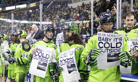 Sports Top Stories - Lacrosse Team Sings 'Baby, It's Cold Outside' During Halftime Sing-Along