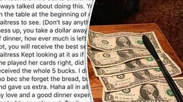 Brett 'Bside' Matthews - A Couple's Restaurant Tipping Strategy Has The Internet Pissed Off