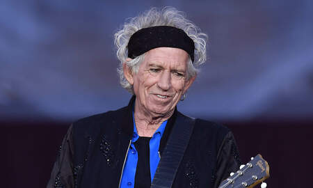 Music News - Rolling Stones' Keith Richards Says He's Lost Interest in Booze