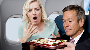 Weird News - Warning On British Airways Menu Shocks Business Class Passenger