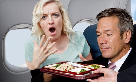 Trending - Warning On British Airways Menu Shocks Business Class Passenger