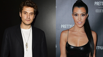 Entertainment News - John Mayer And Kourtney Kardashian Were Spotted Getting Flirty