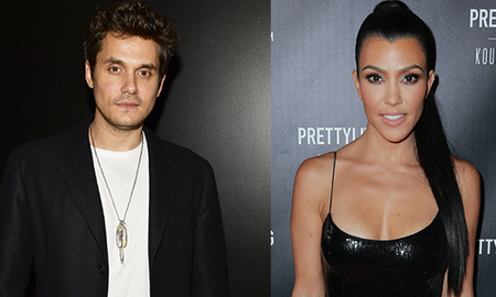 Entertainment News - John Mayer And Kourtney Kardashian Were Spotted Getting Flirty