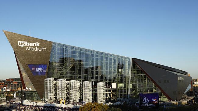 U.S. Bank Stadium in Minneapolis, Minnesota