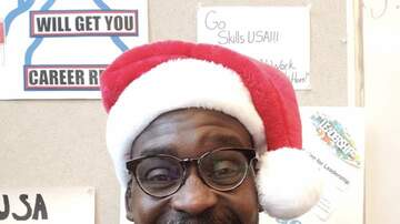 Stan Bell - Stan is Santa at school...