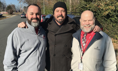 Trending - Dave Grohl Makes a Surprise Visit to His Old High School