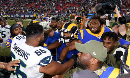 Seattle Seahawks - Jordan Simmons relishing chances to play with Seahawks