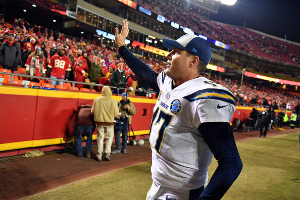 Chargers QB Philip Rivers  Getty Images