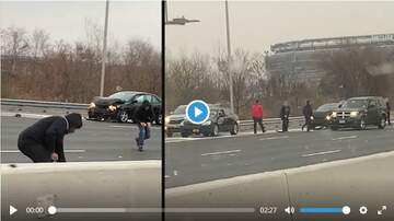 Cindy Scull Mornings - Armored Truck Spills Thousands of Dollars on NJ Highway