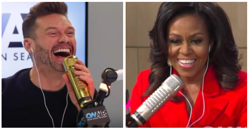 Michelle Obama Dishes to Ryan Seacrest Life Before & After the White House