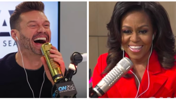 Ryan Seacrest - Michelle Obama Dishes to Ryan Seacrest Life Before & After the White House