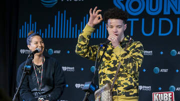 Photos - Lil Mosey in the AT&T Sound Studio