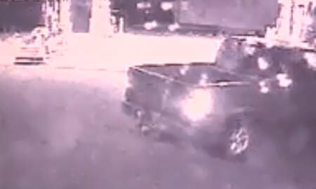 Weird News - Thieves Crash Truck Into Gas Station Store To Steal ATM