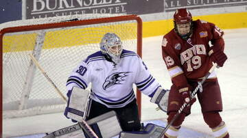 Carl Falk - Niagara University Hockey Coach Jason Lammers