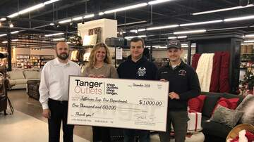 Local News Stories WCH - Tanger Outlets Jeffersonville Makes Donations