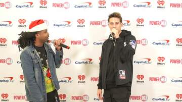 Jingle Ball - Moran Interviews G-Eazy at Power 96.1's Jingle Ball