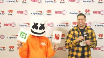 Jingle Ball - Duryan Interviews Marshmello