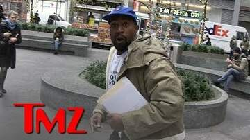 Chuck Dizzle - Kanye West On The Run When Asked About Drake Beef