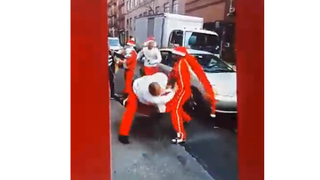 BC - SantaCon Turns Into Drunken Chaos With 10 Arrests
