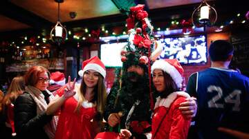 Weird News - 14 Arrested At Hoboken SantaCon