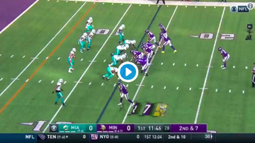 Vikings - VIDEO: Kirk Cousins his Stefon Diggs to open up the scoring vs MIAMI