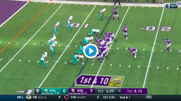 Vikings - Dalvin Cook get the edge and into the end zone from 13 yards out [VIDEO]