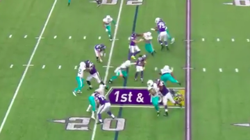 Vikings - WOW! 👀 Wait until you see this spin move from Dalvin Cook for the TD...