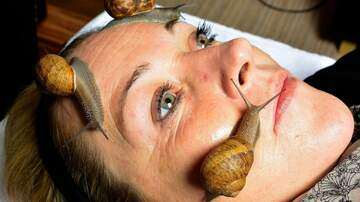Rockin' Rick (Rick Rider) - Snail Facials!  Yep, it's a thing now!  (VIDEO)