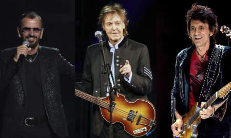 Rock News - See Paul McCartney, Ringo, Ronnie Wood Perform The Beatles' Get Back
