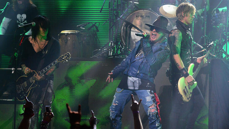 Guns N' Roses Guitarist Says Band's New Album Could Arrive 'Faster Thank You Think'