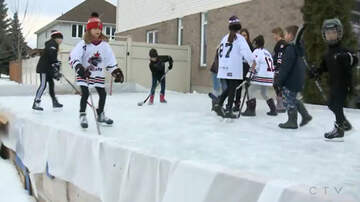 National News - Neighbor's Complaint Forces Family To Remove Hockey Rink From Their Yard