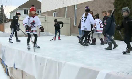 Sports Top Stories - Neighbor's Complaint Forces Family To Remove Hockey Rink From Their Yard