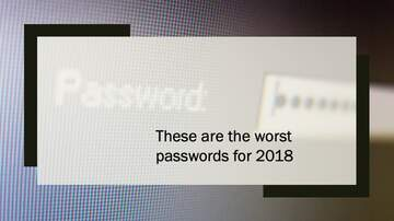 Kyle Anthony - The Worst Passwords of 2018