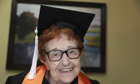 Scott and Sadie - An 84-Year-Old Got Her College Degree Because Bingo Was Too Boring