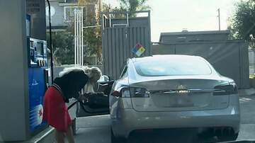 McKay and Donuts - (VIDEO) Where's The Gas Tank On This ELECTRIC Car?