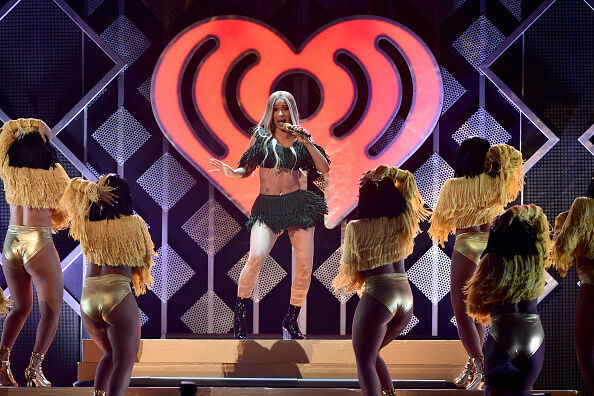Z100's Jingle Ball 2018 - Show NEW YORK, NY - DECEMBER 07: Cardi B performs onstage at Z100's Jingle Ball 2018 at Madison Square Garden on December 7, 2018 in New York City. (Photo by Michael Loccisano/Getty Images)