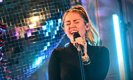Trending - Miley Cyrus Drops Delicate Cover Of Ariana Grande's 'No Tears Left To Cry'