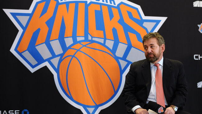 James Dolan Admits He Would Consider Selling Knicks