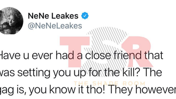 Frankie Robinson - WHAT'S TEA SIS?? WHO IS NENE TALKING ABOUT?