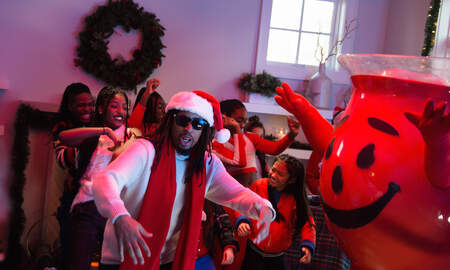 Trending - Lil Jon Taps Kool-Aid Man For New Christmas Anthem & It Is A True Gift