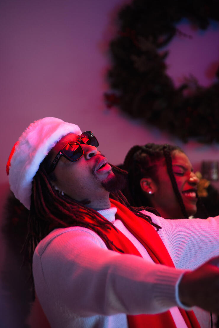 """Lil Jon """"All I Really Want For Christmas"""" Music Video"""