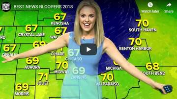 Brooke Morrison - The Best News Bloopers Of 2018! (VIDEO)